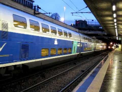 SNCF TGV 5316 Le Havre - Marseilles assuré par une rame TGV-D à Rouen R-D