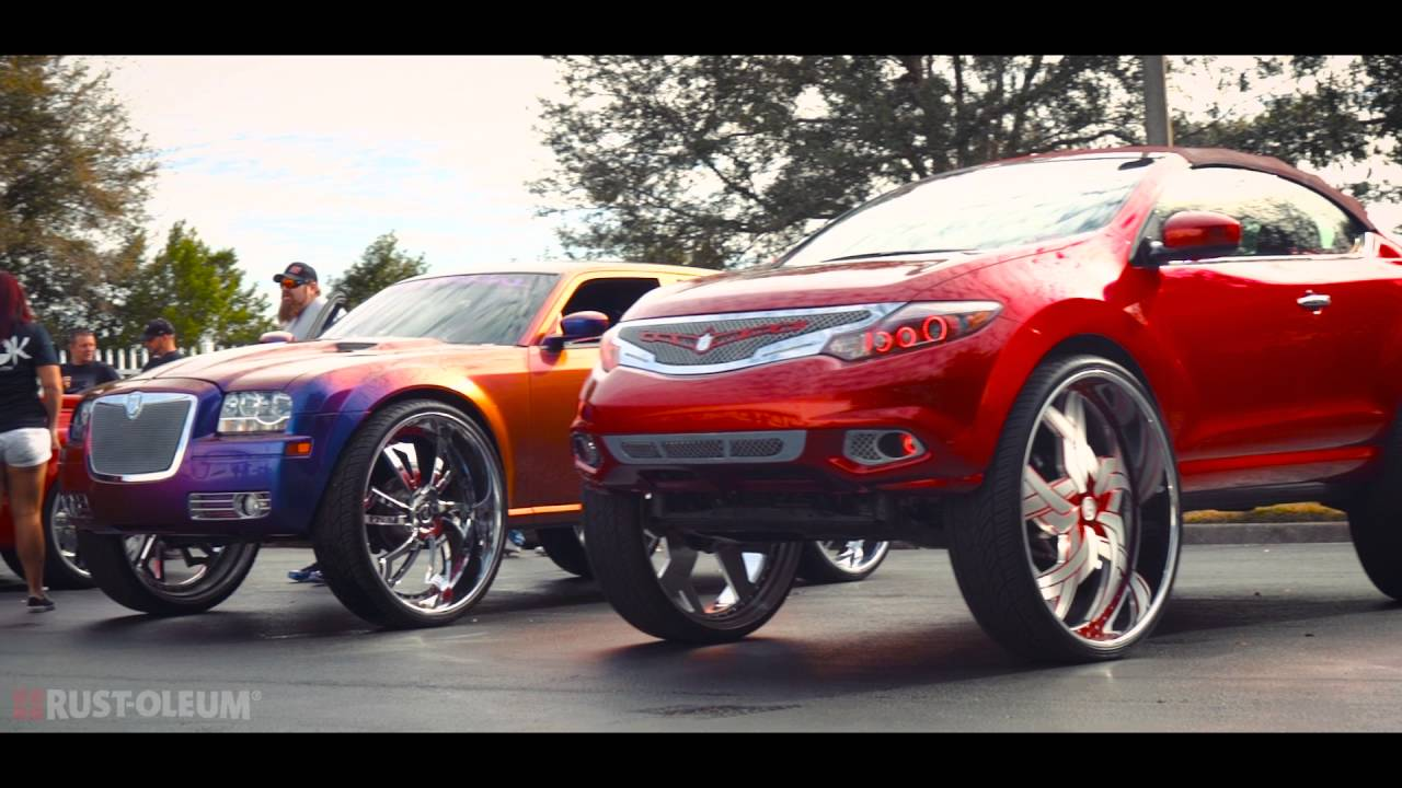 NOKTURNAL Car Club Customizes Their Rides with Rust-Oleum - YouTube