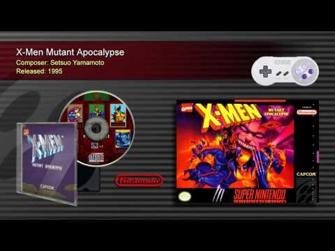 X-Men Mutant Apocalypse (Full OST) - SNES