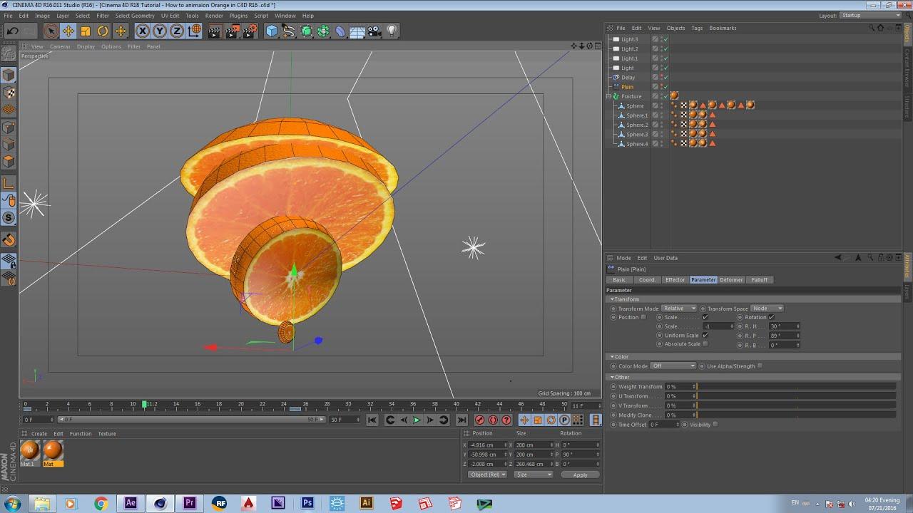 orange c4d images galleries with a bite. Black Bedroom Furniture Sets. Home Design Ideas