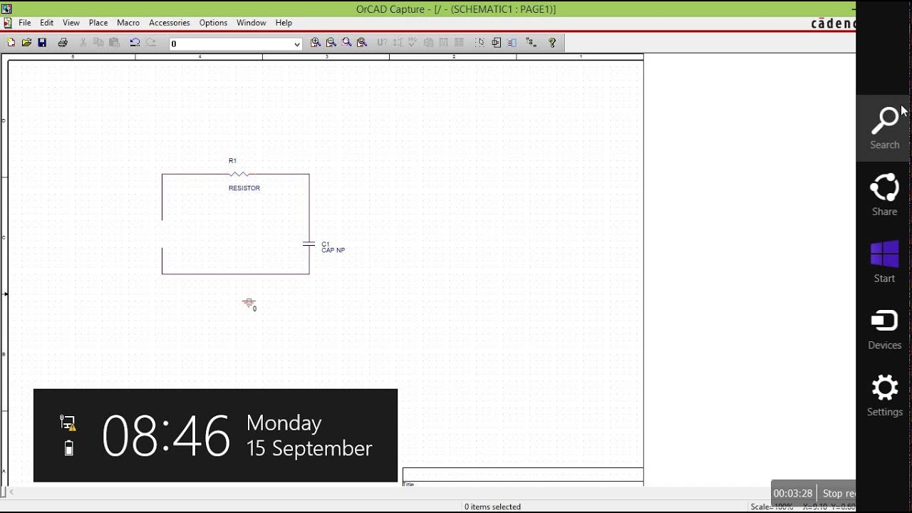 1. create schematic using OrCAD capture - YouTube