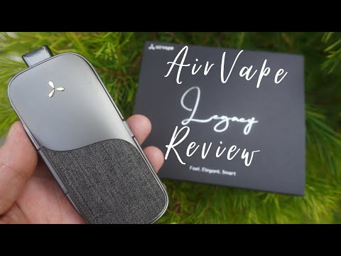 AirVape Legacy Review // THIS VAPORIZER IS MADE WITH HEMP!? // BEST HERBAL VAPORIZER YET?!