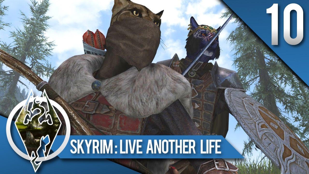 KID-KHAJIIT CARRIER BUSINESS! - Skyrim SE Live Another Life: Khajiit Orphan  Let's Play 10 by Thamriyell