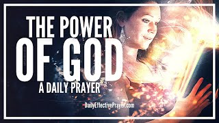 Prayer To Unleash The Supernatural Power Of God Right Now | Activate God's Power