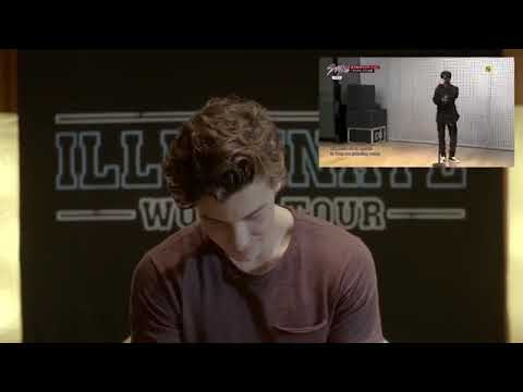 Shawn Mendes Reaction To Bang Yedam