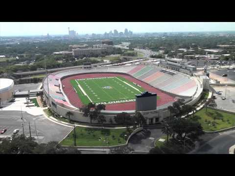 Alamo Stadium Renovated and Beautiful