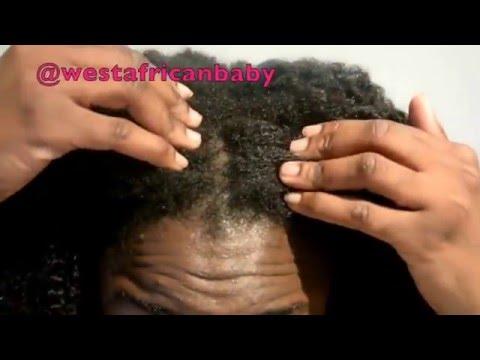 COWASH & INSTALLATION  HERGIVENHAIR Natural Hair---westafricanbaby