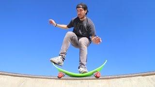Crazy Bendy Skateboard!!?