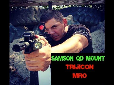 Trijicon MRO Samson QD Mount