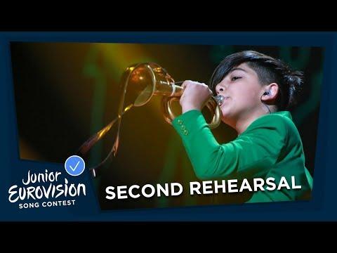 L.E.V.O.N - L.E.V.O.N - Second Rehearsal - Armenia 🇦🇲 - Junior Eurovision 2018