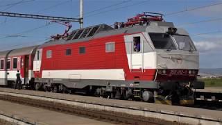 Lokomotivní řada 350 (ES 499.0) ZSSK na výkonech ...   ... viz komentář
