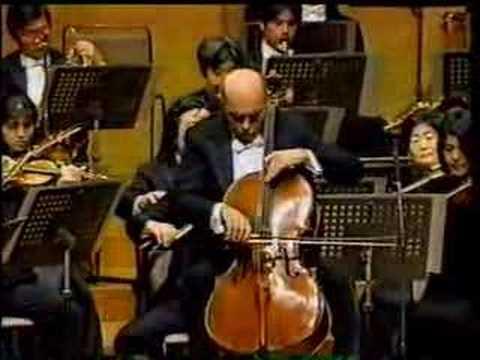 Janos Starker - Dvořák: Concerto - 1st mvt. (2/2)
