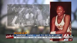 Kansas City coach hopes overcoming 2 strokes provides inspiration for others