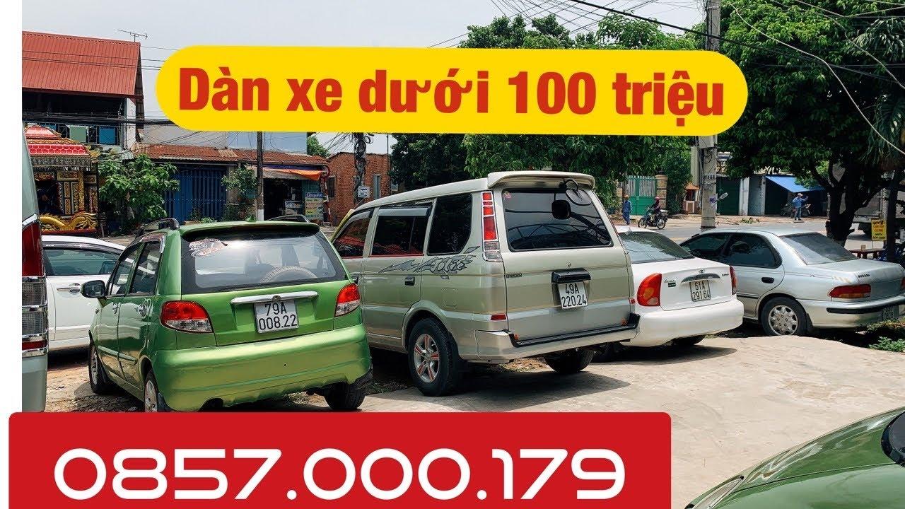 Dàn Xe Dưới 100 Triệu Cực Hot Cho Ae Nào Cần Xe Tập Lái 📞 Nghĩa Bốn Bánh – chuyên xe dưới 300 triệu