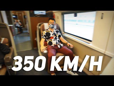 High Speed Rail Business Class - Shanghai to Beijing