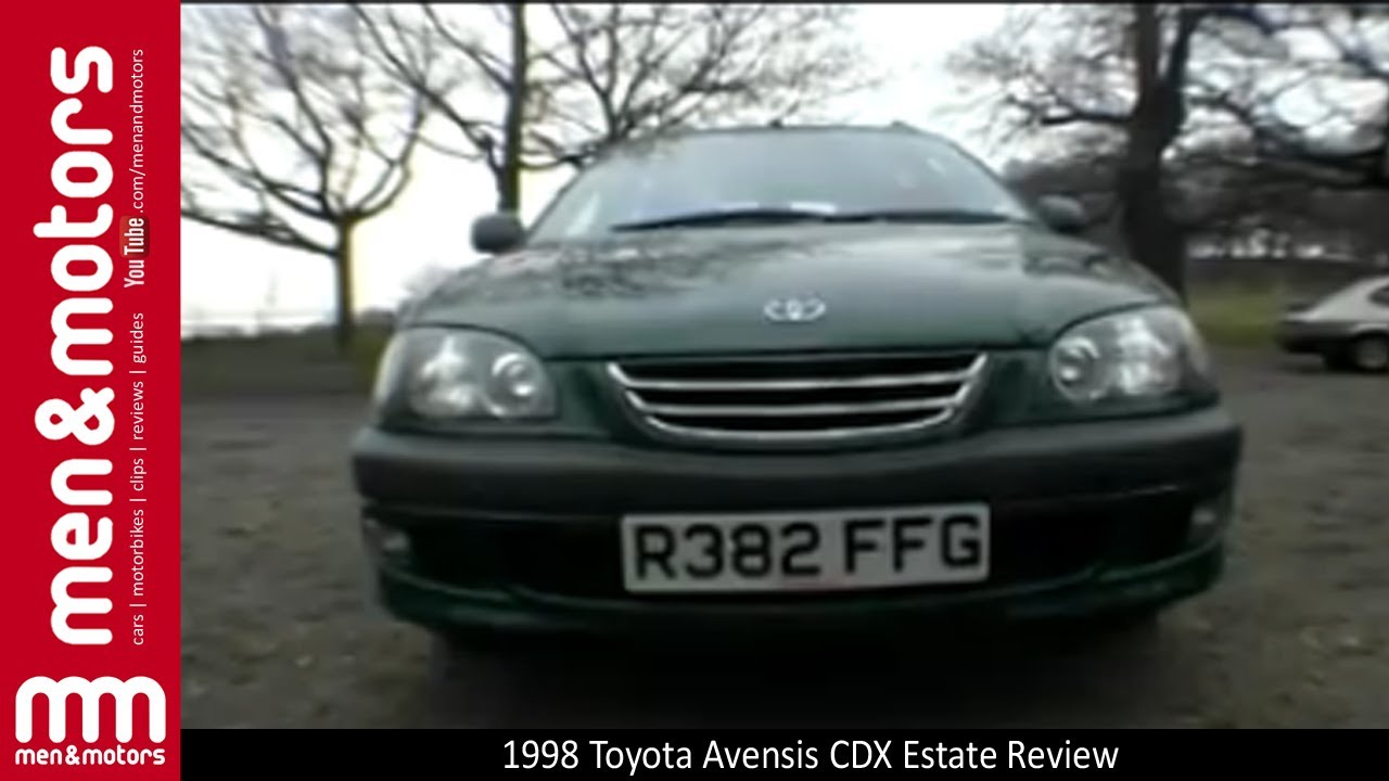 1998 Toyota Avensis CDX Estate Review