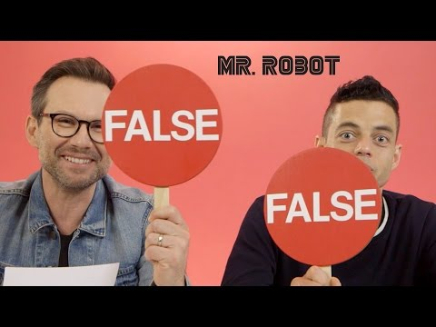 Hacking Facts with Rami Malek & Christian Slater  // Presented by BuzzFeed & USA's Mr. Robot