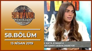Survivor Panorama 58. Bölüm - 13 Nisan 2019