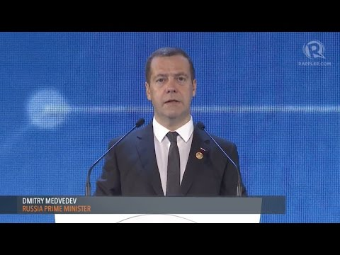 APEC CEO SUMMIT 2015: Russia PM Dmitry Medvedev