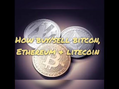 How to buy Cryptocurrency(Bitcoin, Ethereum & Litecoin) 2 min