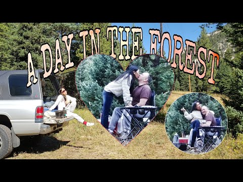 A DAY IN THE FOREST - CAMPING @YELLOWSTONE AREA | FREE LODGING | Fine Ventures