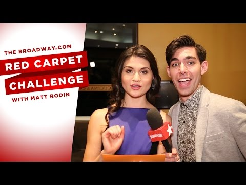 RED CARPET CHALLENGE: AMELIE with Phillipa Soo, Andrew Rannells, Adam ChandlerBerat and more