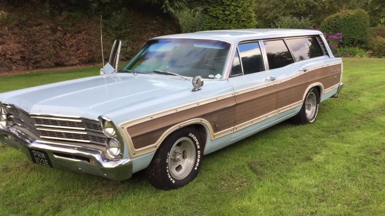 1967 ford galaxie country squire station wagon 390 ps pb. Black Bedroom Furniture Sets. Home Design Ideas