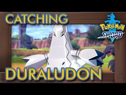 Pokémon Sword & Shield - How to Catch Duraludon (1% Rarity Pokémon)