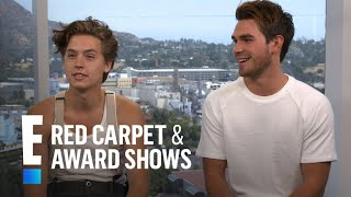 Cole Sprouse & K.J. Apa on Shocking
