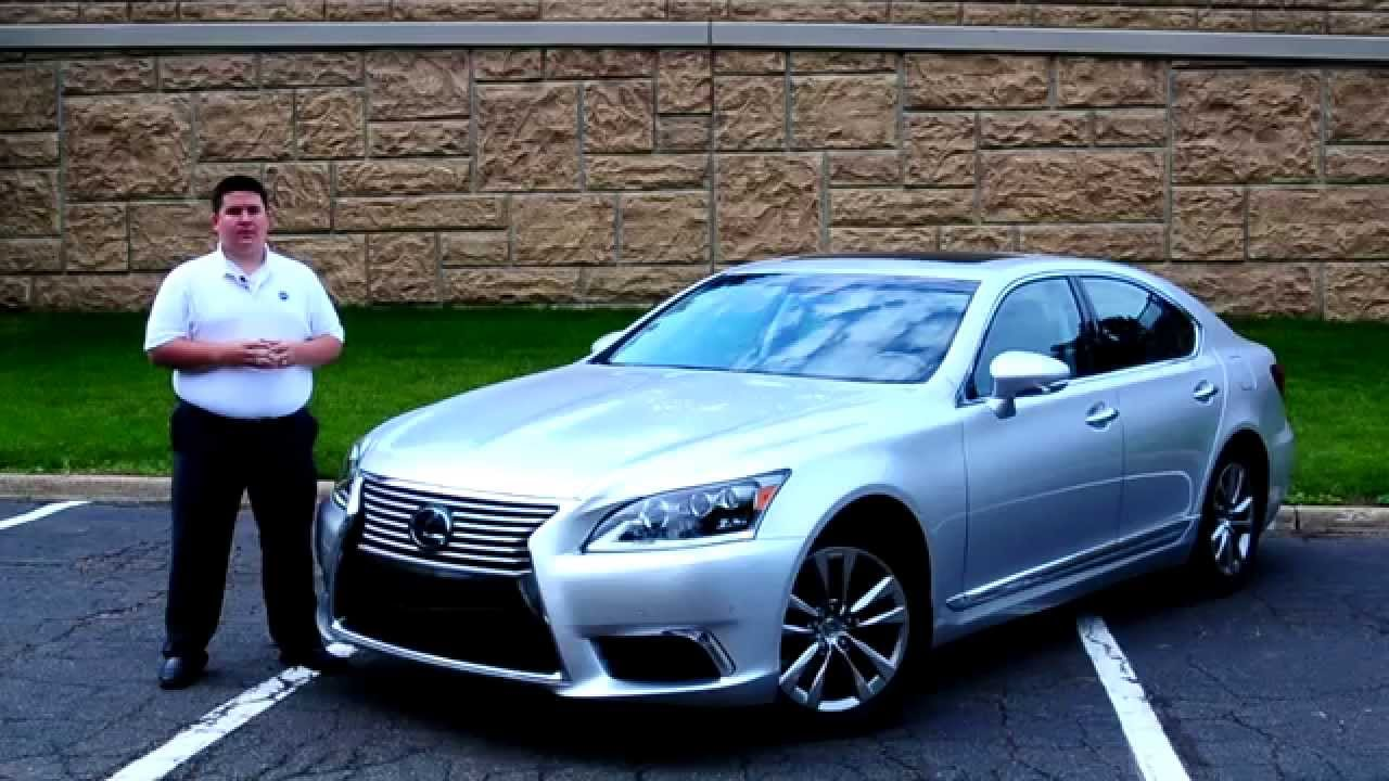Ihs Auto Review 2014 Lexus Ls460 With Enform Youtube