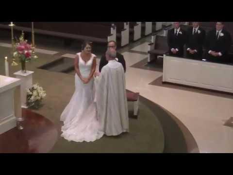 The Sacrament of Matrimony of Brandon Fontaine & Jillian Reeves 9 16 2018
