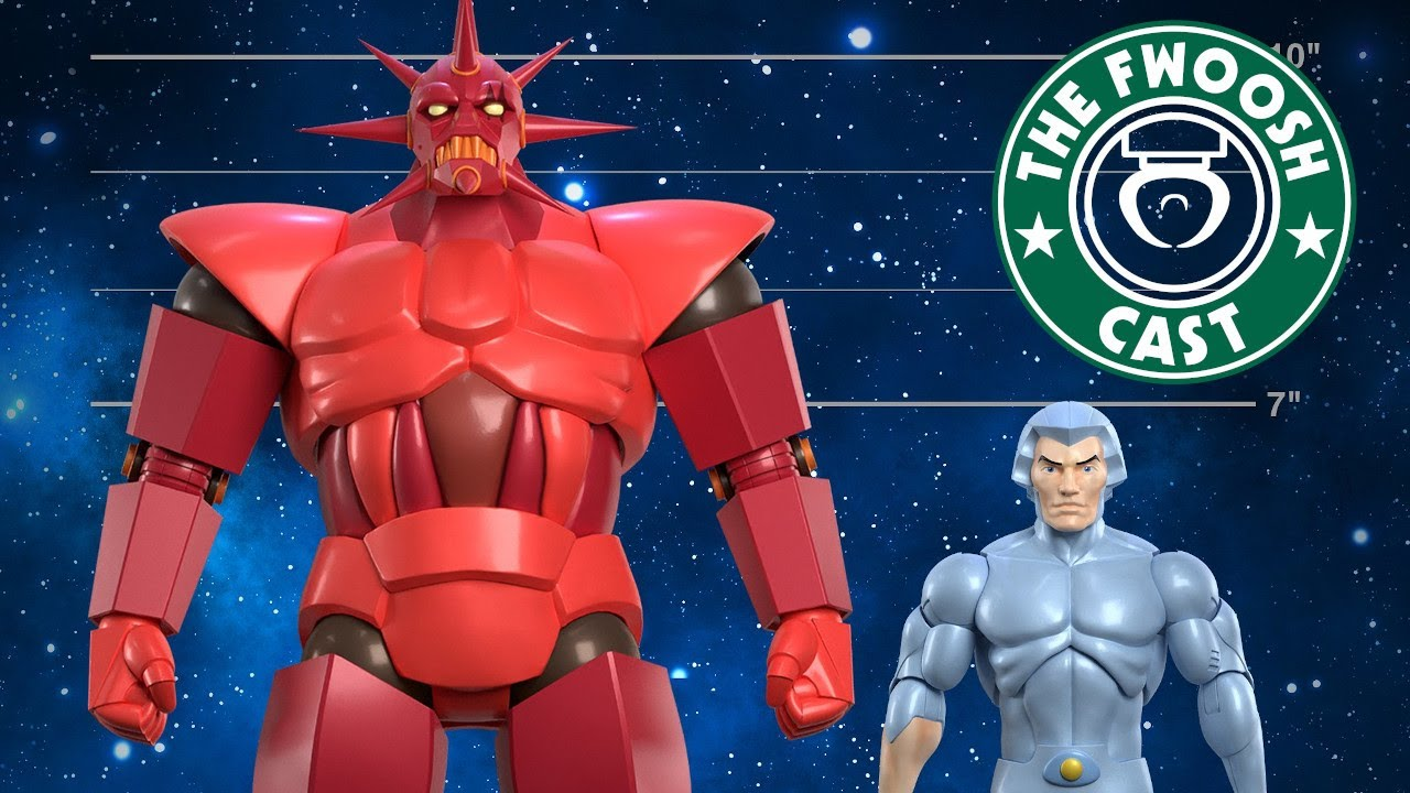 FwooshCast Ep.58: Super7 ULTIMATES! Edition V3.0 Silverhawks and More!