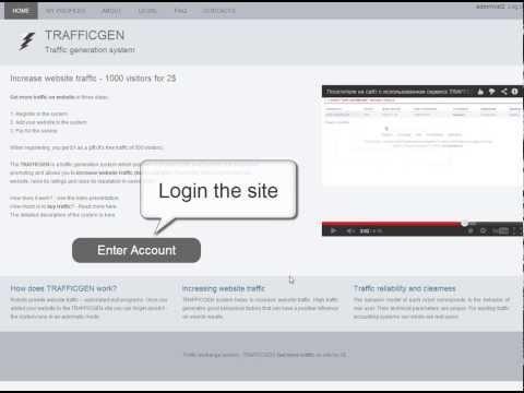 Buy traffic on website – TRAFFICGEN