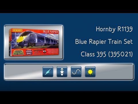 Opening the Blue Rapier Train Set by Hornby