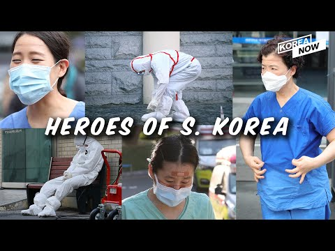 South Korea's medical staffs fighting against coronavirus in forefront