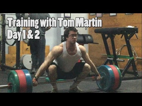 Training with Tom Martin - 202.5kg/446lbs Bench Press thumbnail