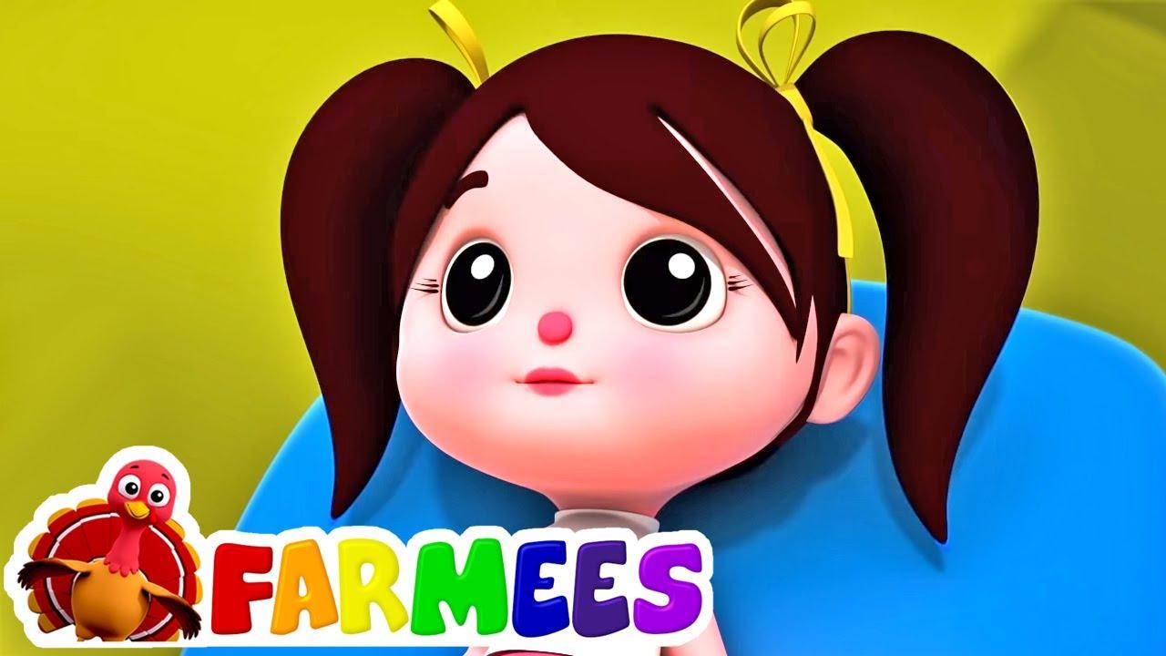 Senhorita polly tinha uma boneca | Canção infantil | Farmees Português | Musica para bebes