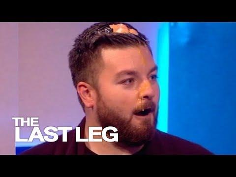 Nick Clegg Eggs Alex Brooker - The Last Leg