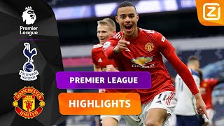 GOALS TOT IN DE LAATSTE MINUUT! ⚽🥅 | Tottenham vs Man United | Premier League 2020/21 | Samenvatting