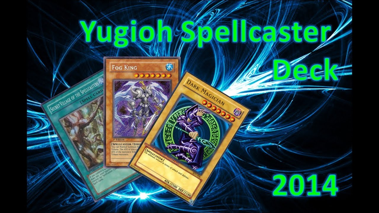 yugioh dark magician spellcaster deck profile 2014 youtube