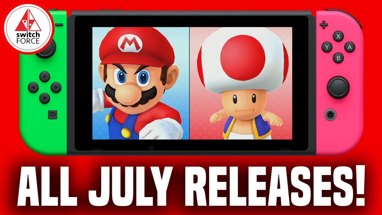 Com Games 2018 Dates : All nintendo switch games july release dates what