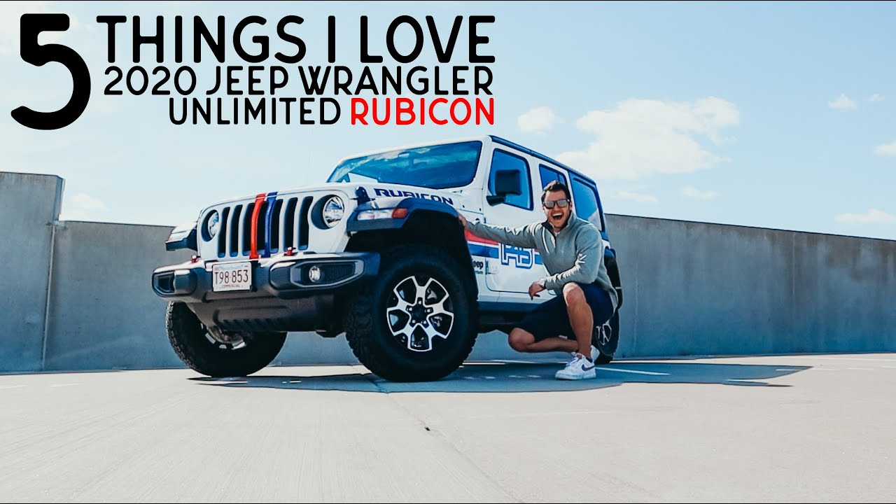 5 THINGS I LOVE ABOUT MY 2020 JEEP WRANGLER RUBICON