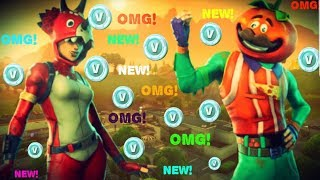 Rookie Pro Player 140+Wins New TomatoHead Skin Fortnite Battle Royal VBucks Giveaway At 3K Subs