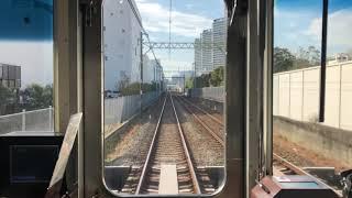 【全区間前面展望】京急大師線 1500形(東門前〜小島新田間地下化前)