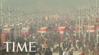 The World's Largest Peaceful Gathering Starts Today In India   TIME
