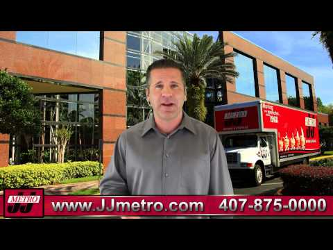 Orlando Commercial Movers | 407-875-0000 | J & J Metro | Orlando Moving Company
