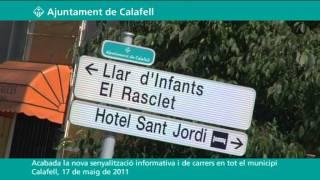 Acabada la nova senyalització informativa en tot el municipi
