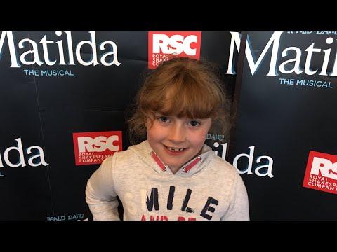 A Trip To See Matilda the Musical