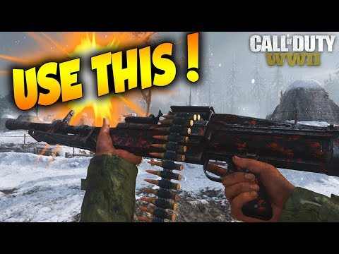 THIS WEAPON HAS NO RECOIL... BEST CLASS SETUP TO IMPROVE YOUR AIM IN COD WW2!