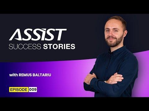 Meet the team - Ep. 9 | Interviu cu Remus Baltariu - Head of Design Department  | ASSIST Software